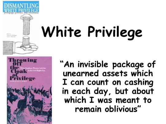 definitin white privilege