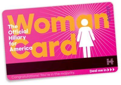 Hillary-woman-card