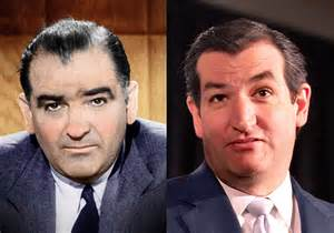 joe mccarthy and ted cruz