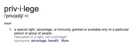 privilege-definition