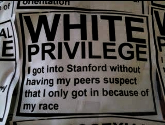 stanford white privilege