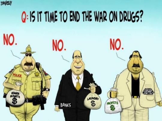 tim kelly cartoon - war on drugs