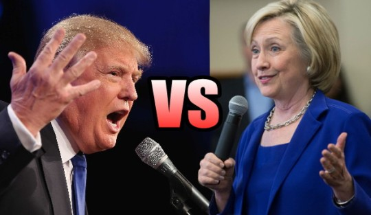 trump vs clinton