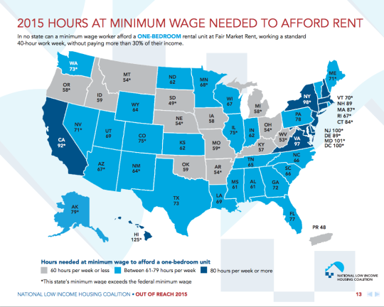 2015 minimum wage i bedroom