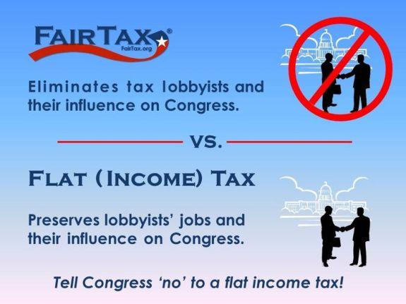 flat tax vs fairtax