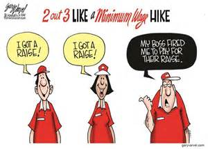 results of raising the minimum wage