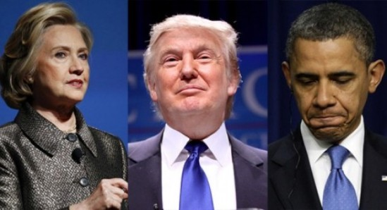 Trump-Obama-Clinton