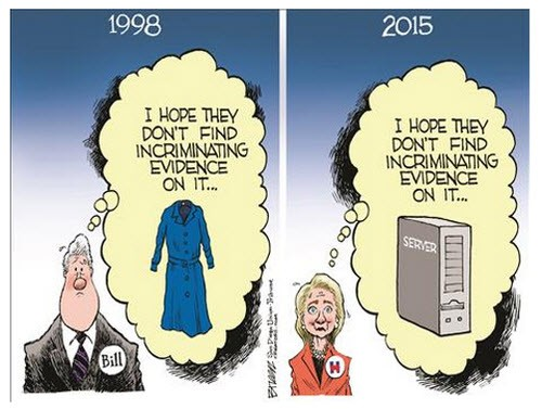 bill-hillary-clinton-incriminating-evidence-political-cartoon