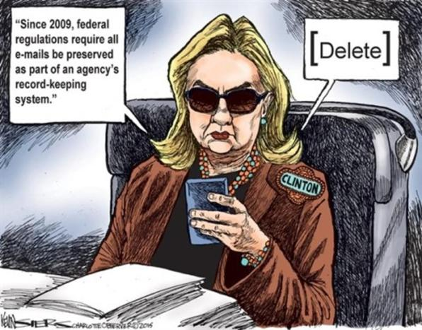 Hillary-Email-Scandal-Cartoons