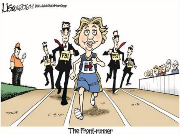 hillary running