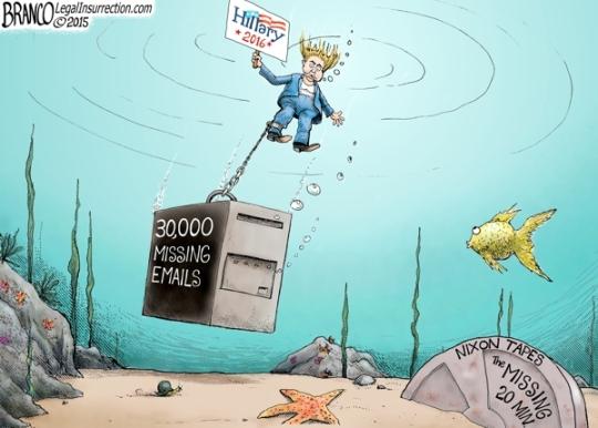hillary-underwater