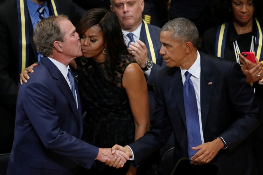 bush-obama-dallas-memorial-2016