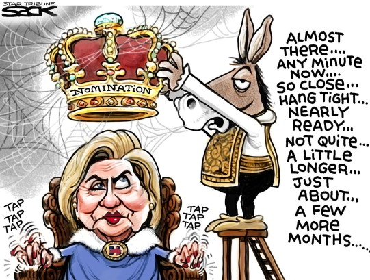 crowing hillary