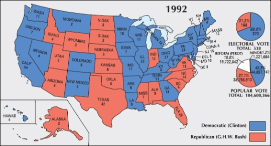 electoral-map-1992-clinton-vs-bush-picture