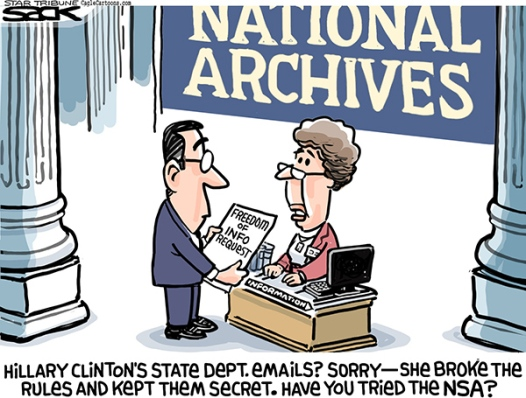 nsa clinton emails