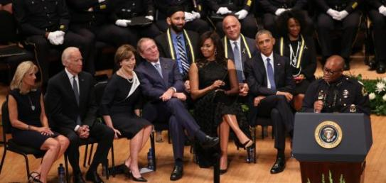 Obama-Bush-Dallas-police-chief-others-salute-fallen-officers-at-memorial-service