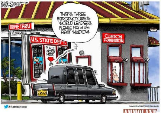 Clinton-Foundation-Drive-Through