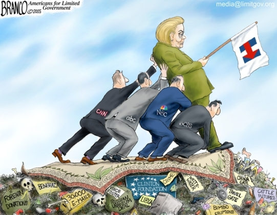 Clinton-Propped