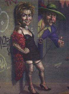 hillary and pimp