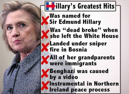 hillary greatest hits