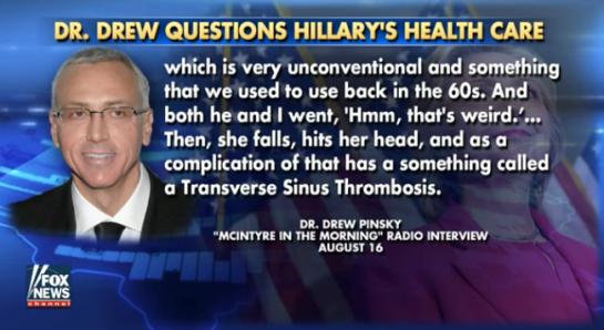 HillaryClinton dr drew