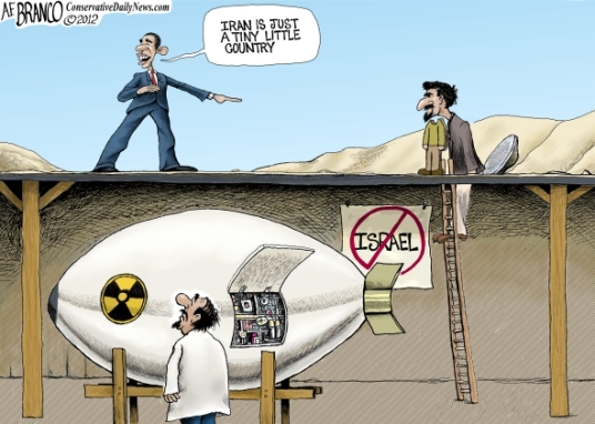 iran scam. obama cartoons