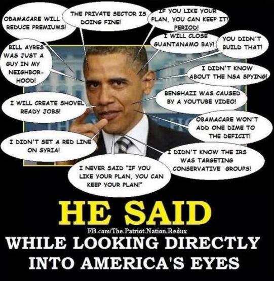 many obama lies