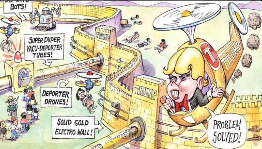 the great trump wall