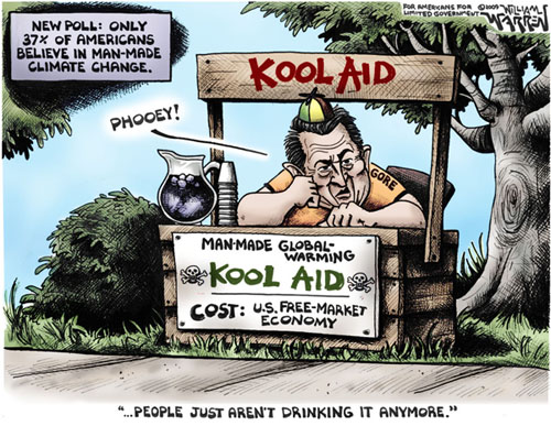 Image result for cartoons kool aid drinkers for donald trump
