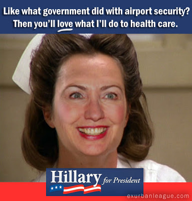 Image result for cartoon hillary clinton is nurse ratched