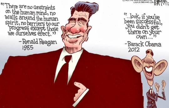 Image result for reagan democrats for trump cartoons