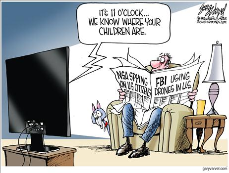 Image result for cartoons obama spied on trump campaign