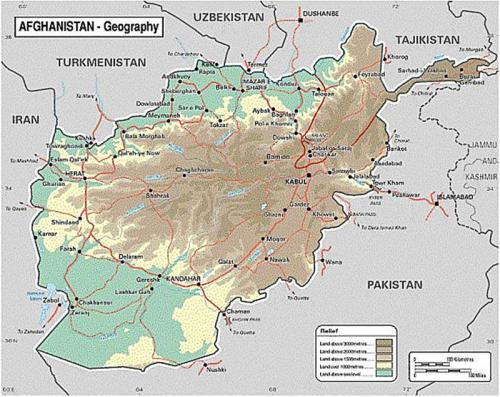 Image result for map of afghanistan with location on minerals
